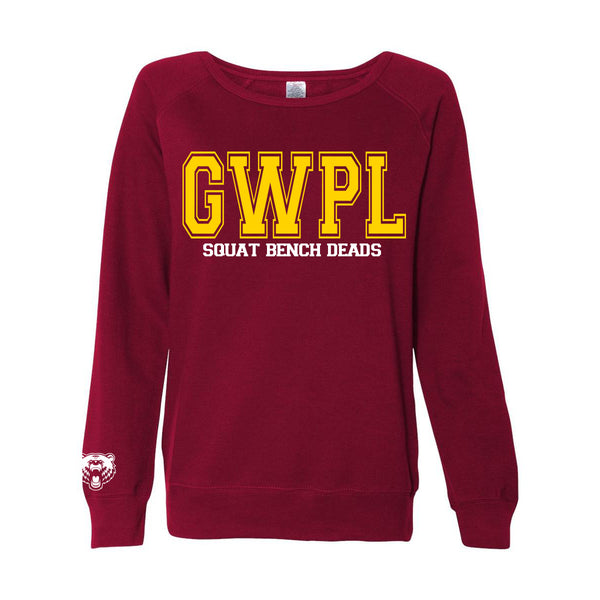 GWPL Varsity Sweater- Crimson