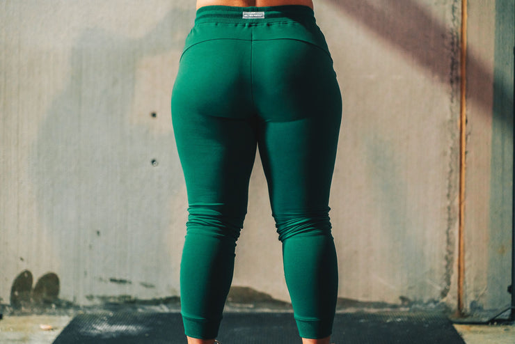 Warm Up Joggers- Green