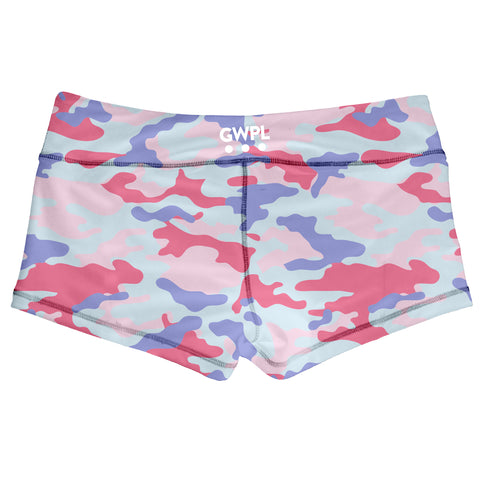 Candy Camo Shorts