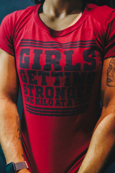 Girls Getting Stronger T-Shirt
