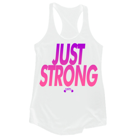 Just Strong - Purple Fade