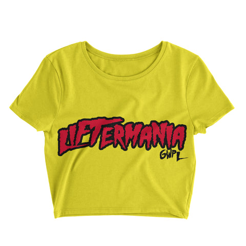 Liftermania Crop Tee