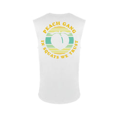 Retro Peach Gang Muscle Tank