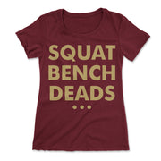 The Lifts T-Shirt- Maroon