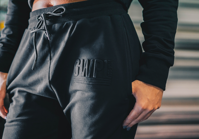 Bossed Up Joggers- Black
