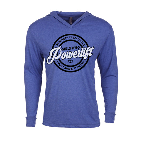 Nation 2.0 Training Hoodie - Heather Blue