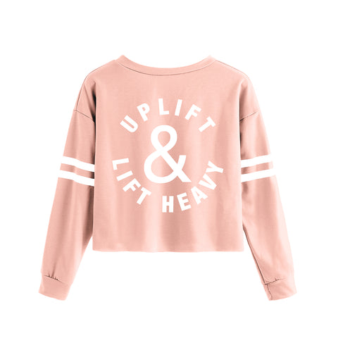 Uplift Crop Sweater