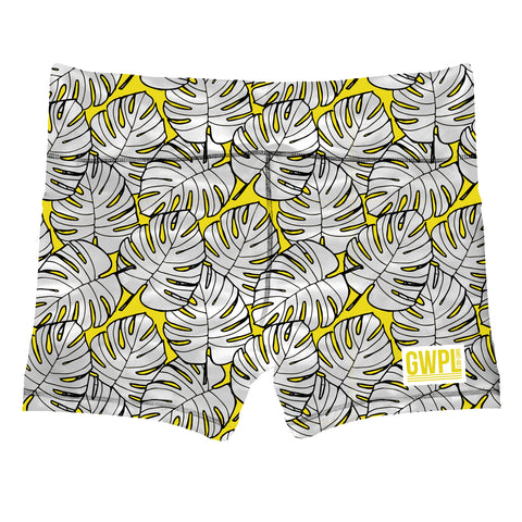 Yellow Dreams Shorts- 2.5