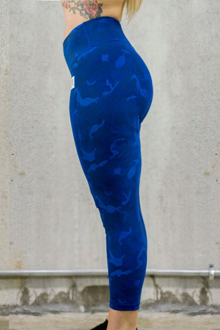 Blue Steel 7/8 Leggings