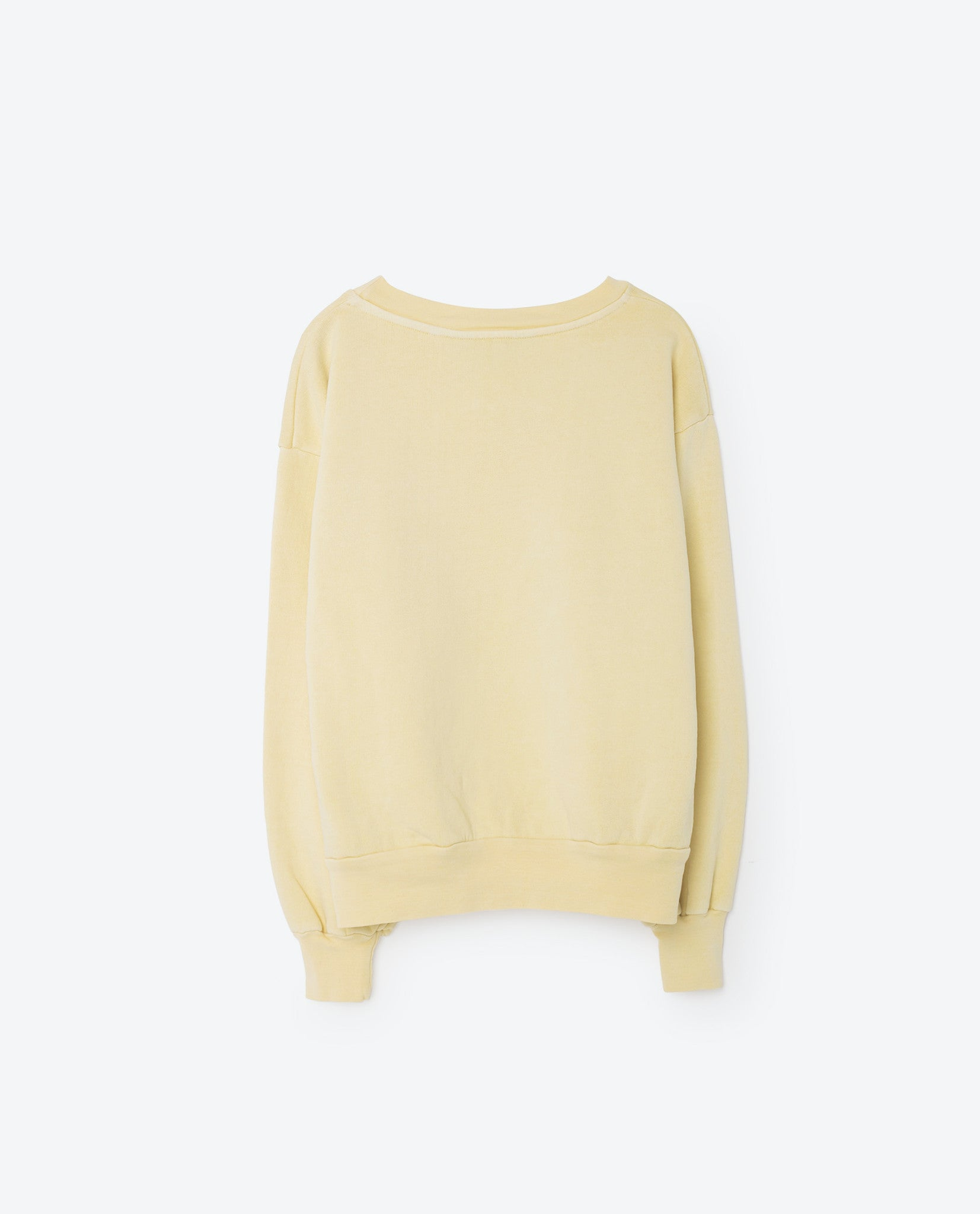 The Animals Observatory Soft Yellow L'amour Sweatshirt