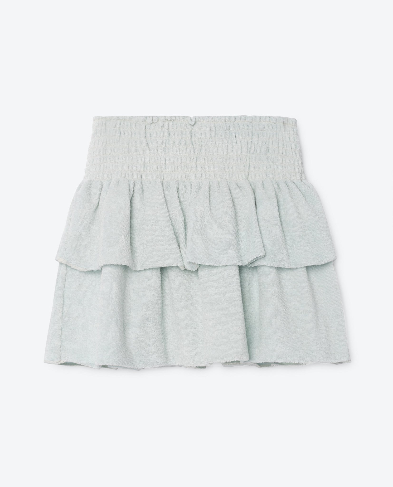 The Animals Observatory Light Blue Chez Luis Kiwi Skirt