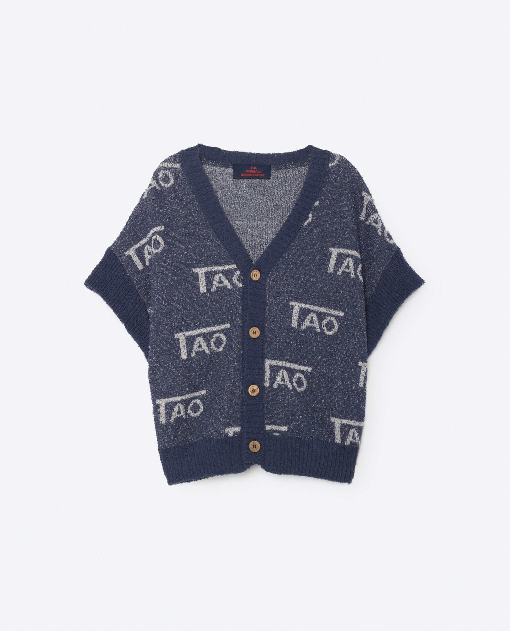 The Animals Observatory Deep Blue Horsefly Cardigan