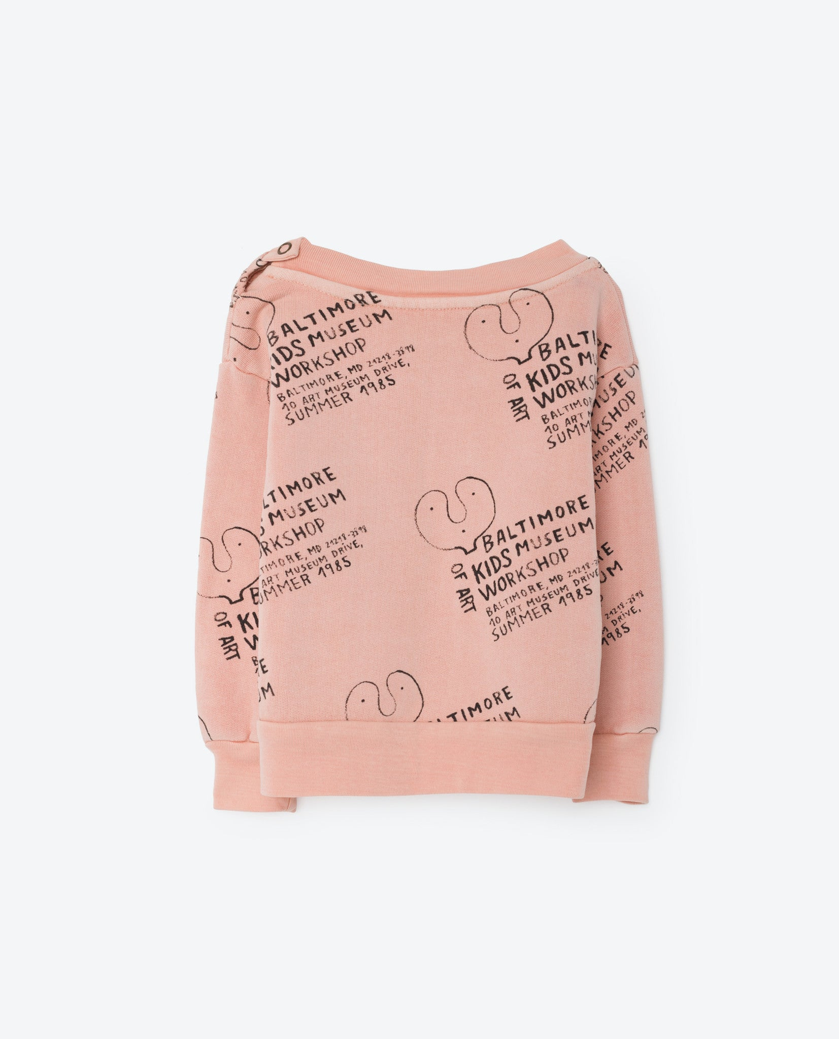 The Animals Observatory Pink Kids Museum Babies Sweatshirt
