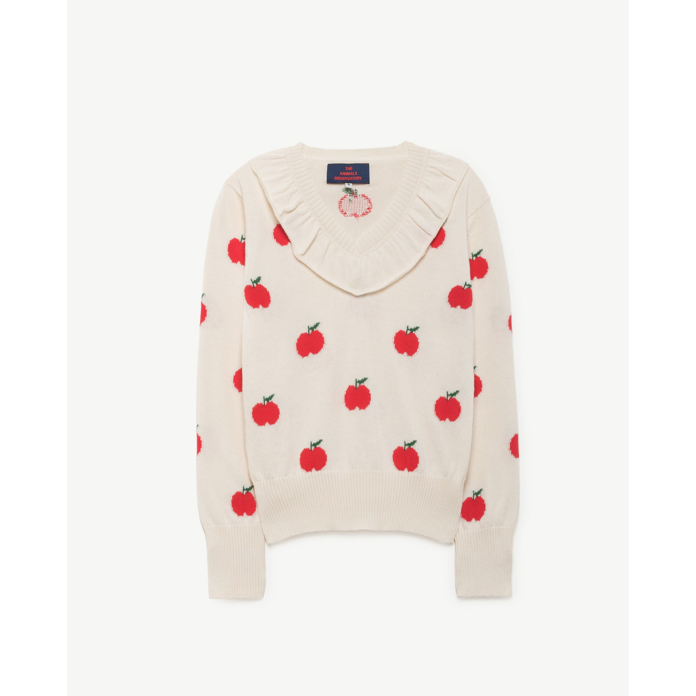 47ff5c9789a The Animals Observatory Red Apple Horsefly Sweater