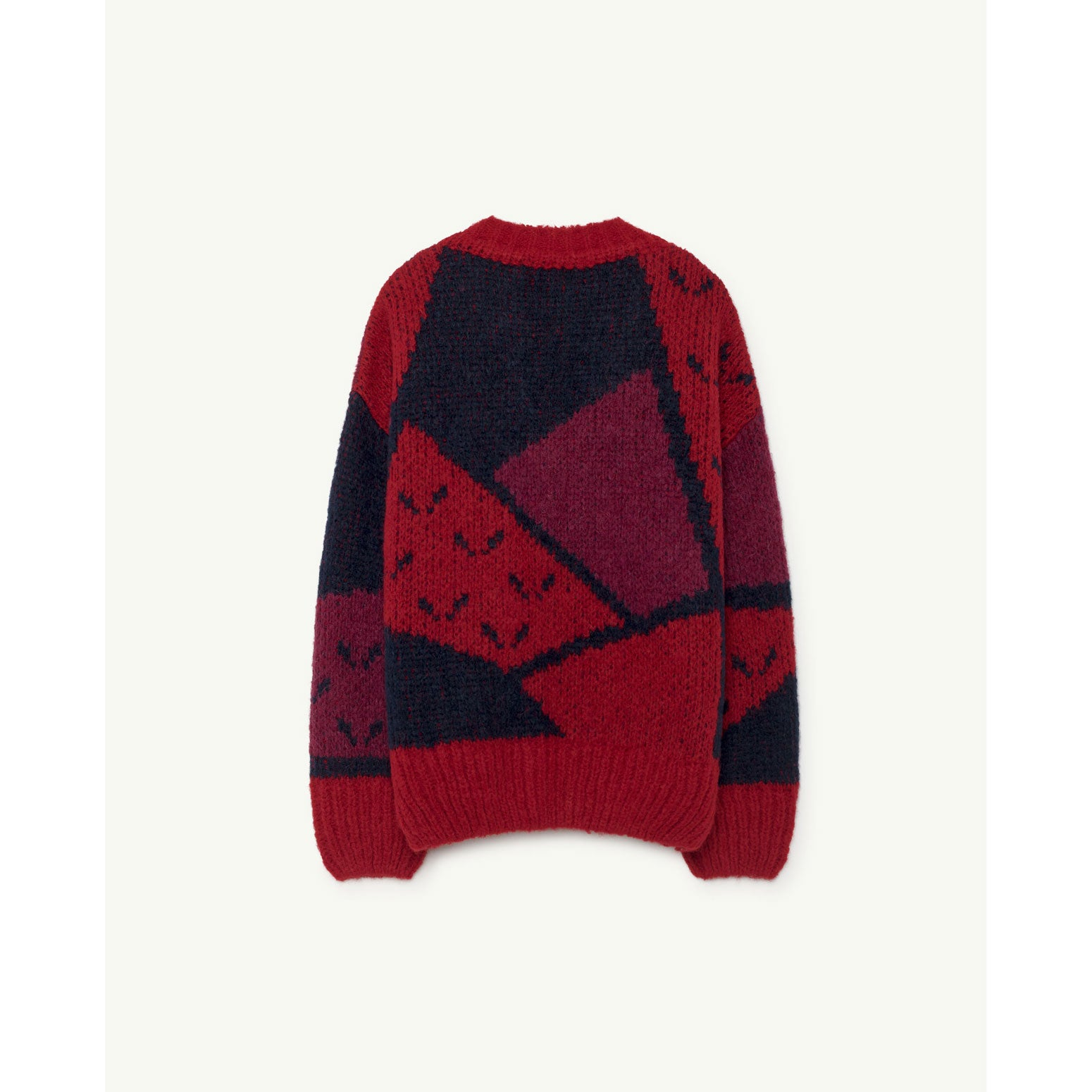 2e2dd9aa7fa2 The Animals Observatory Red Apple Arty Peasant Cardigan