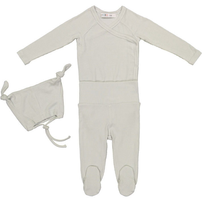 Coco Blanc Pale Blue Baby Gift Set - Ladida