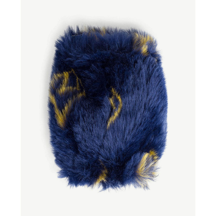 The Animals Observatory Navy Blue Logo Muff