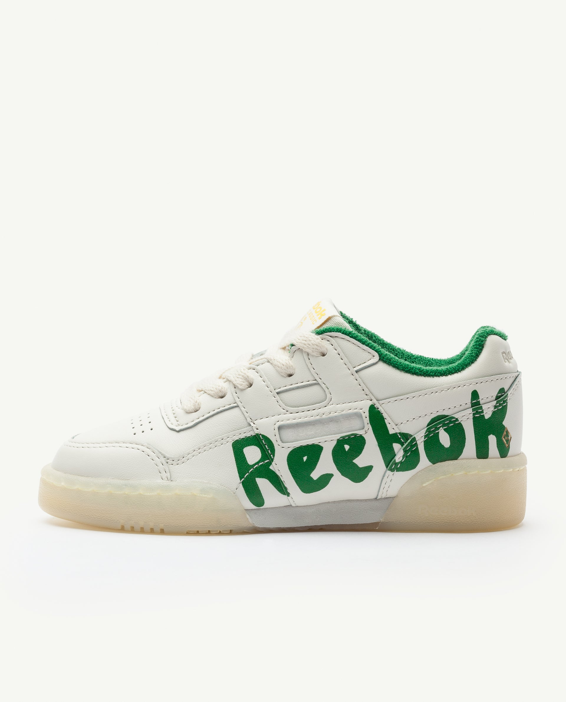 998783d375d63 Reebok Classic x The Animals Observatory Workout Plus Green Kid