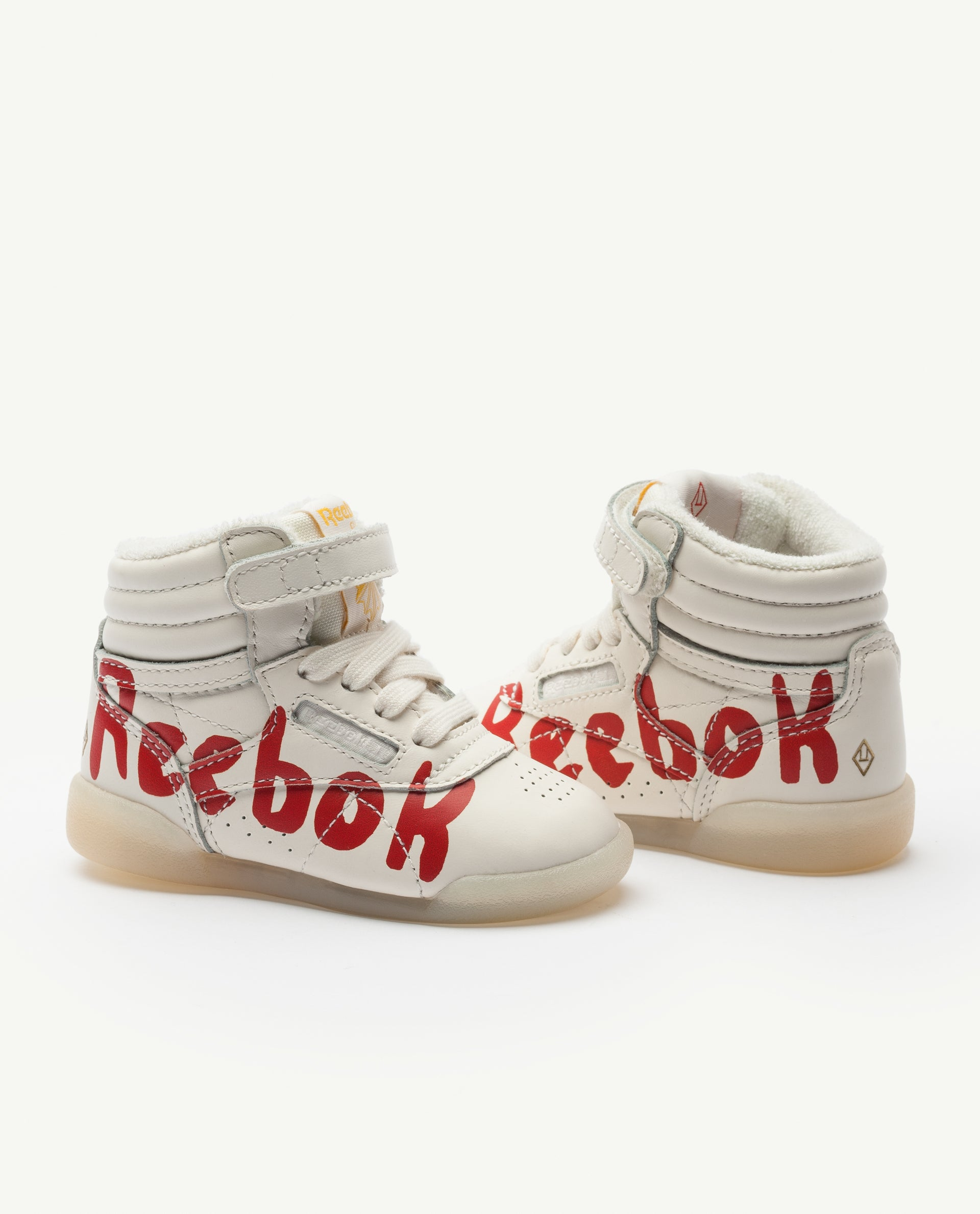 c868fcddd4 Reebok Classic x The Animals Observatory Freestyle Hi Red Baby
