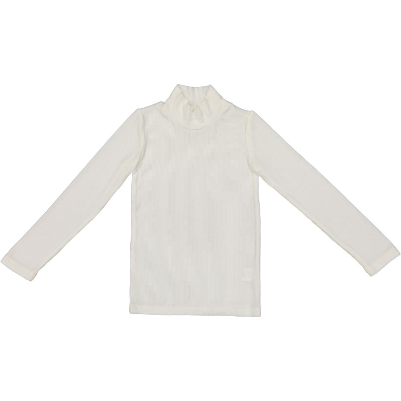 Coco Blanc Winter White Turtle Tee - Ladida