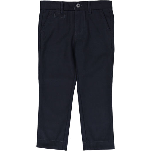 Coco Blanc Navy Wool Pants - Ladida