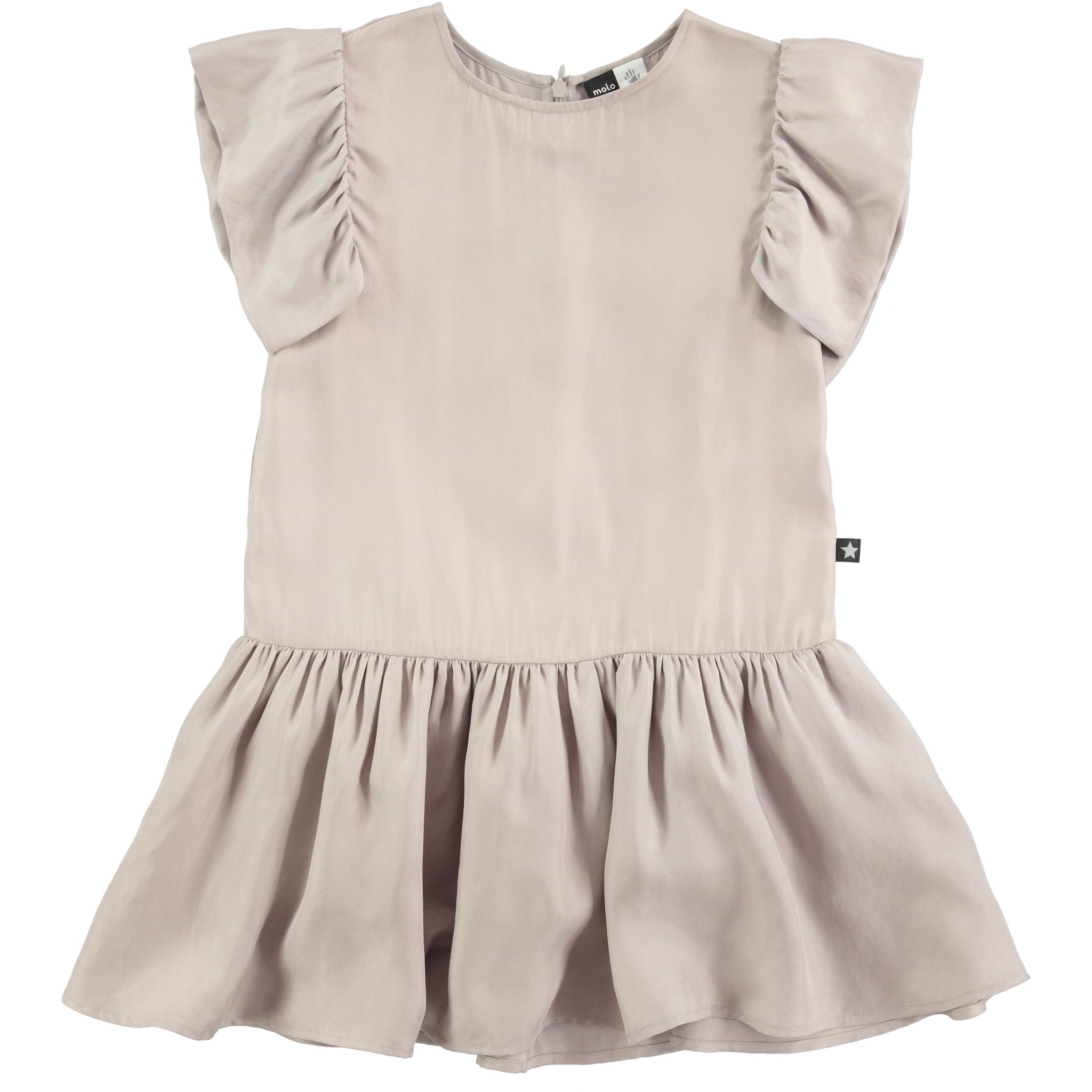 Molo Pearl Grey Claire Dress - Ladida
