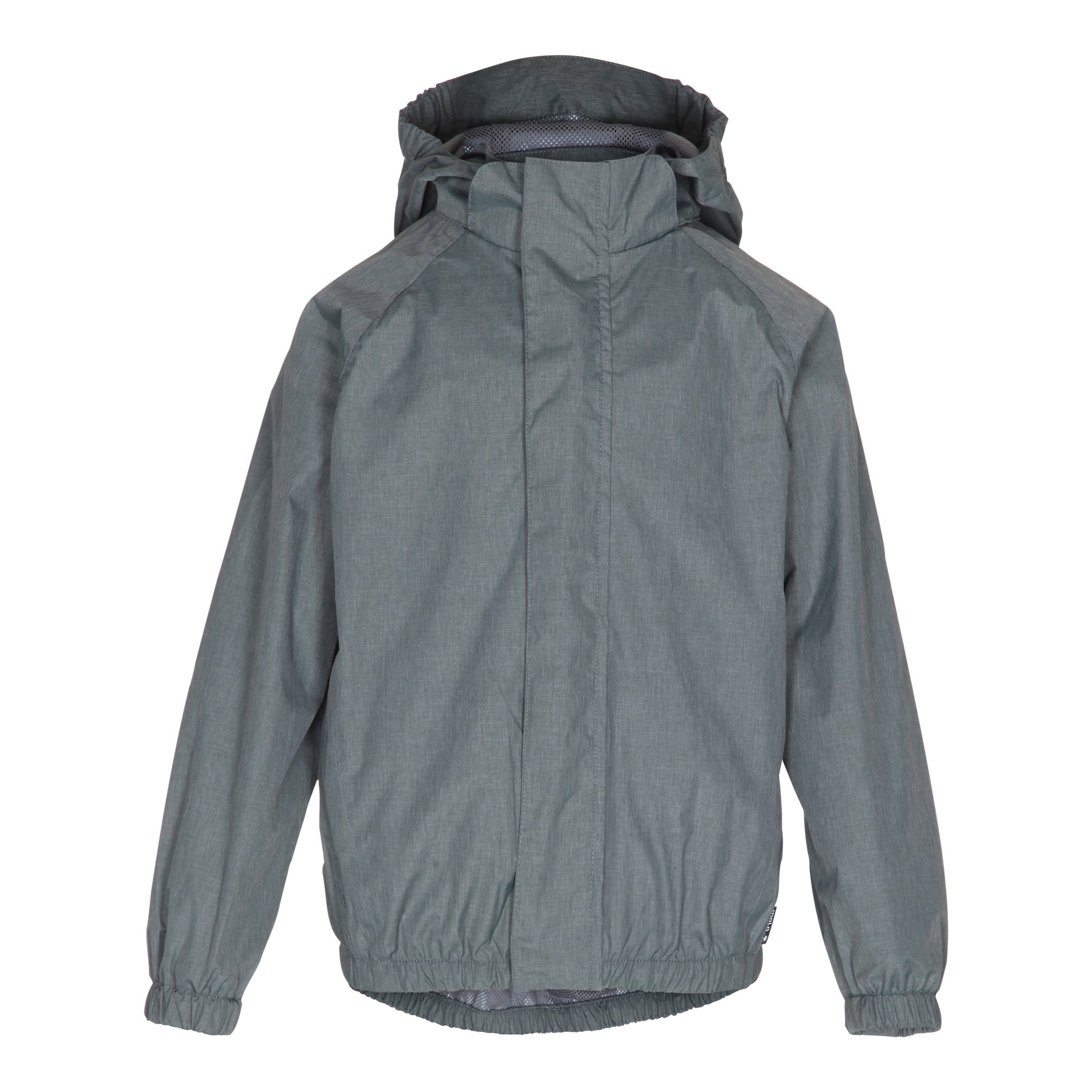 Molo  Metal Grey Rain Jacket - Ladida