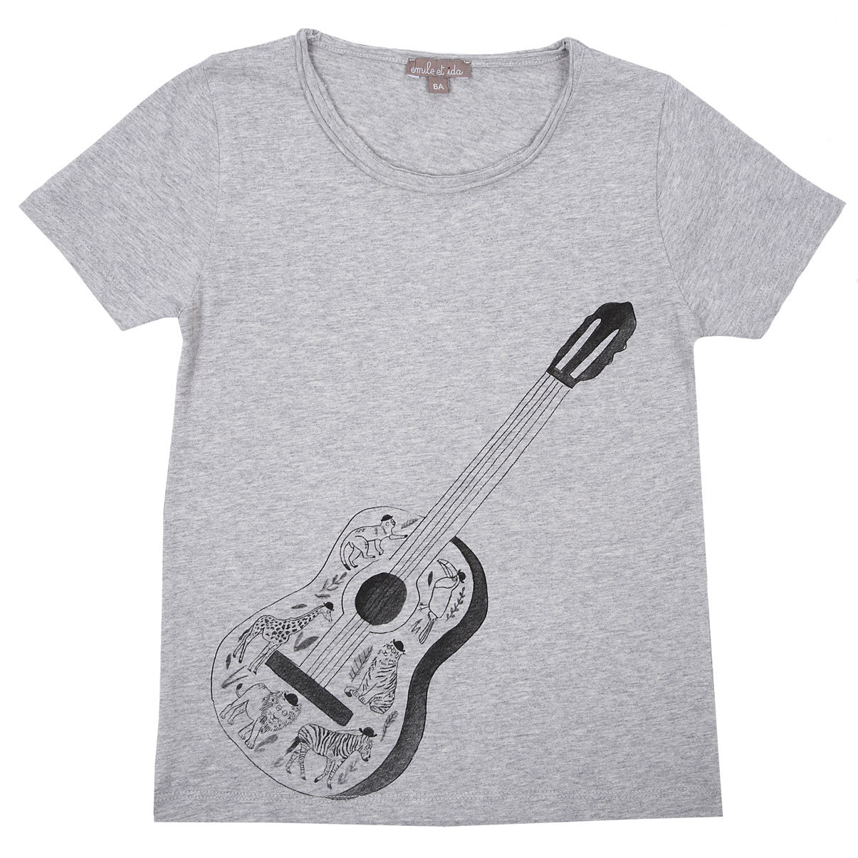 Emile Grey Guitar Tee - Ladida