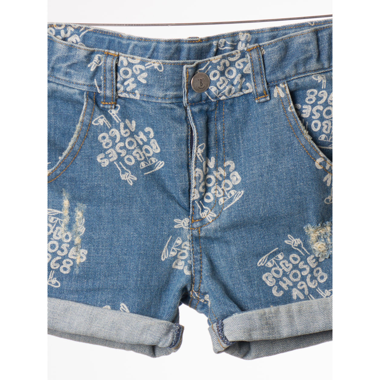 Bobo Choses 1968 AO Denim Short