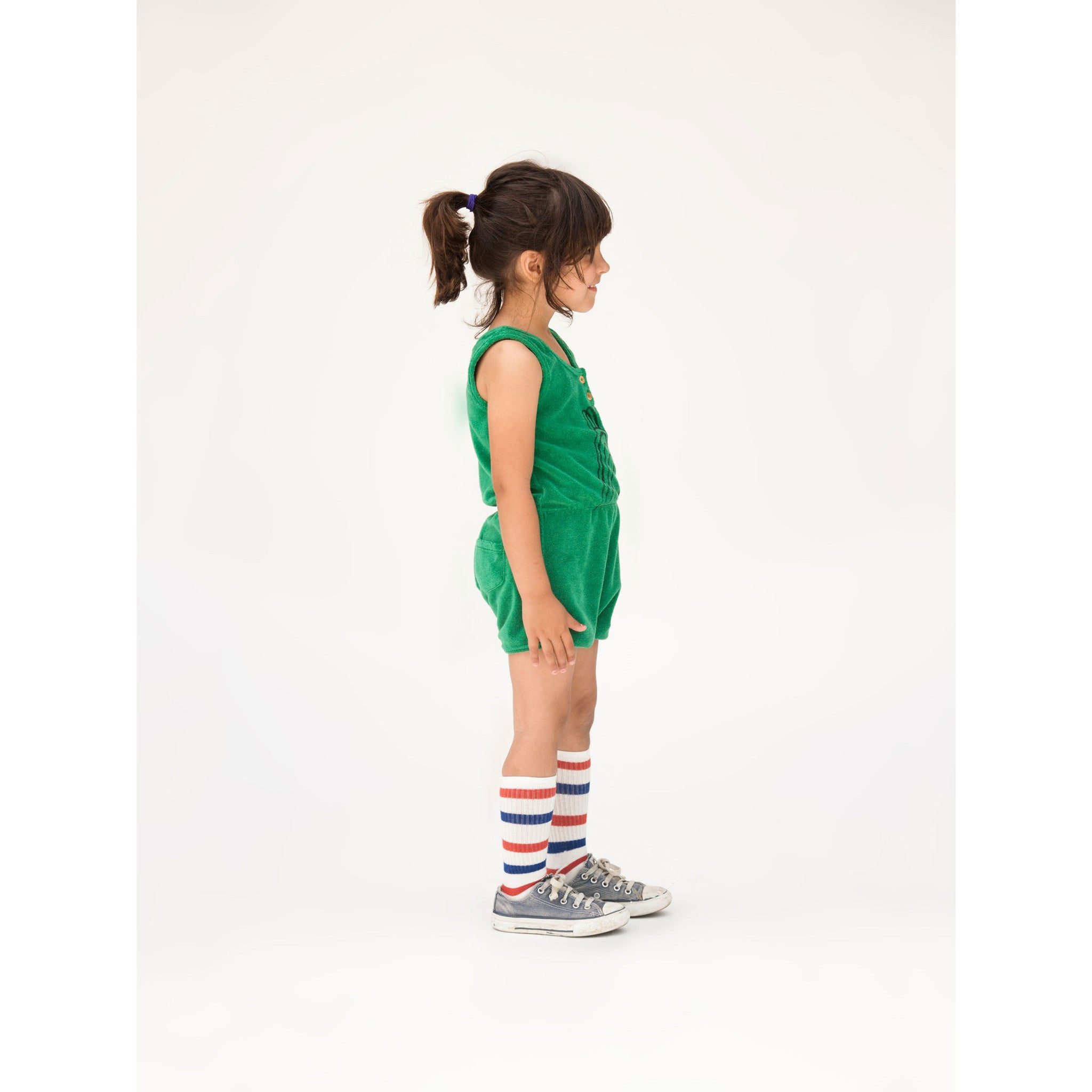 Bobo Choses Slide Terry Waistband Romper - Ladida