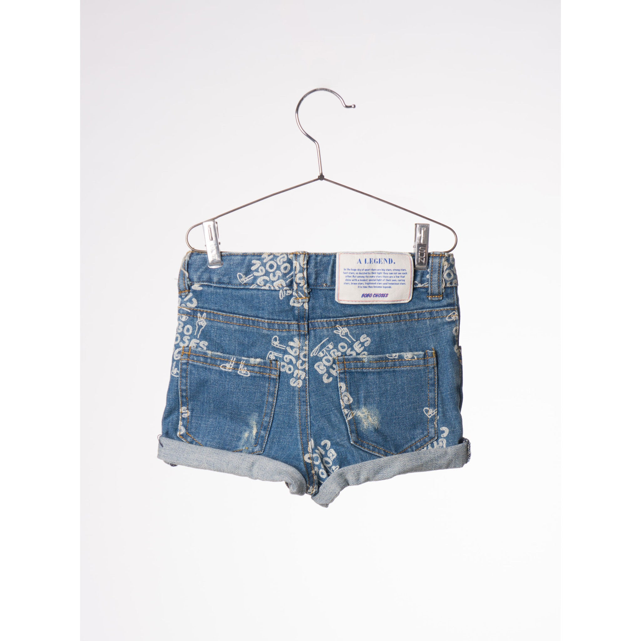 Bobo Choses 1968 AO Baby Denim Short - Ladida