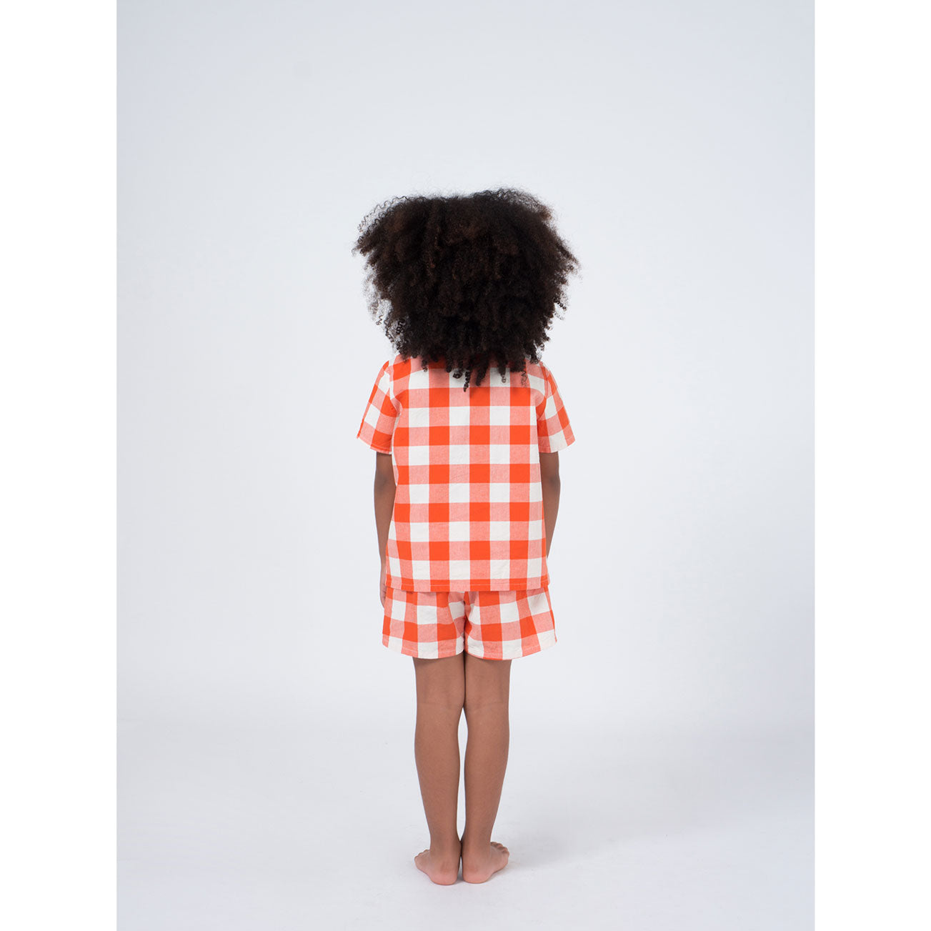 Bobo Choses Red Vichy Pajama Set