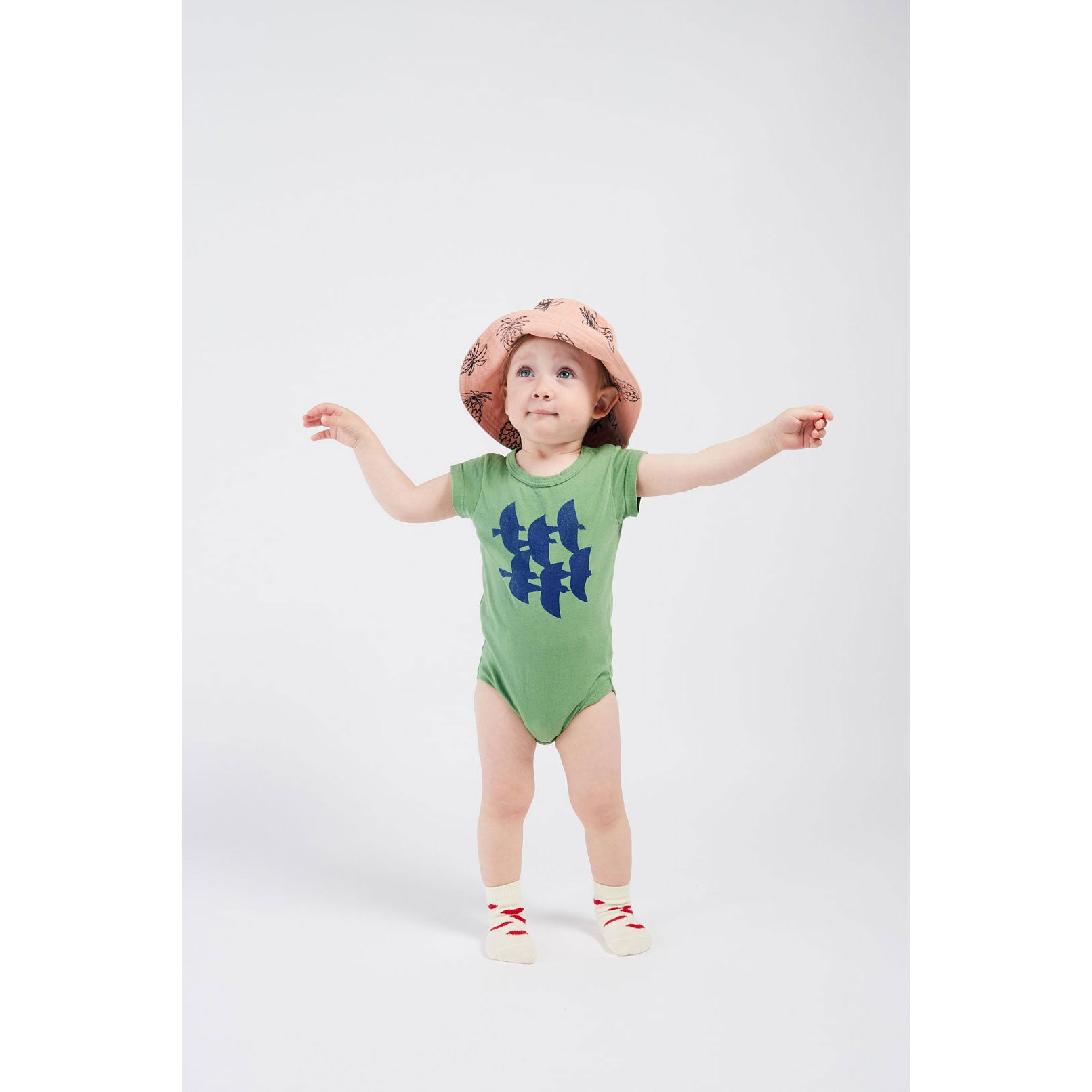 Bobo Choses Flying Birds Short Sleeve Bodysuit