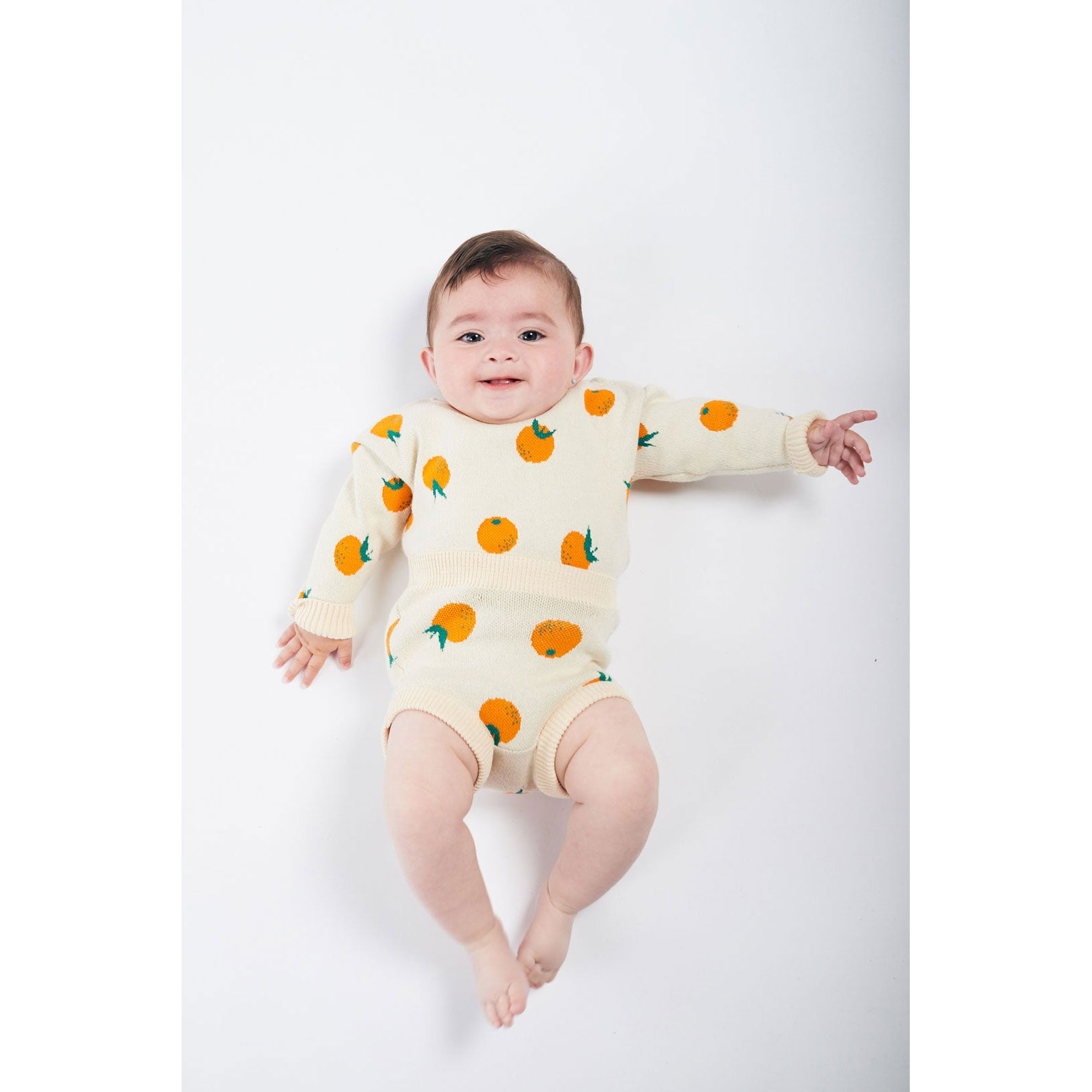 Bobo Choses Oranges Knitted Sweater