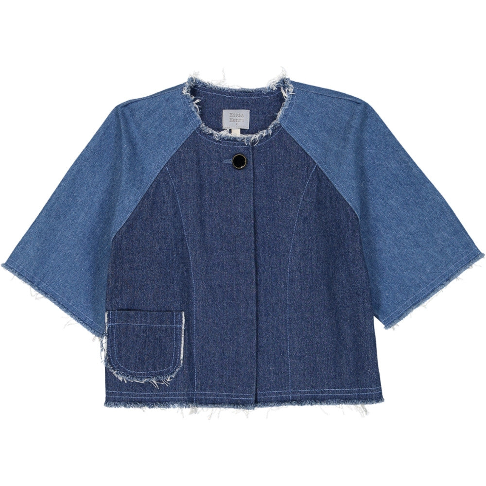 Hilda Henri Denim Lilu Coat - Ladida