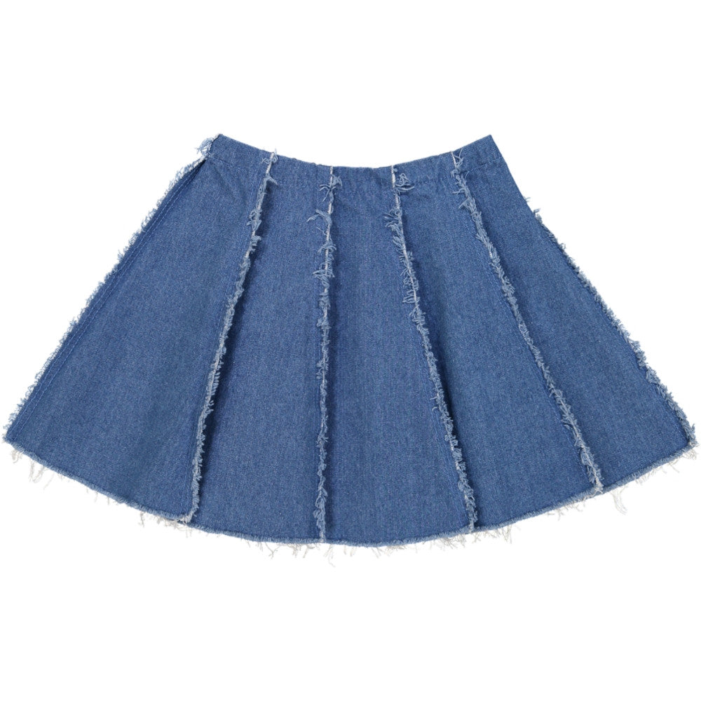 Hilda Henri Denim Lola Skirt - Ladida