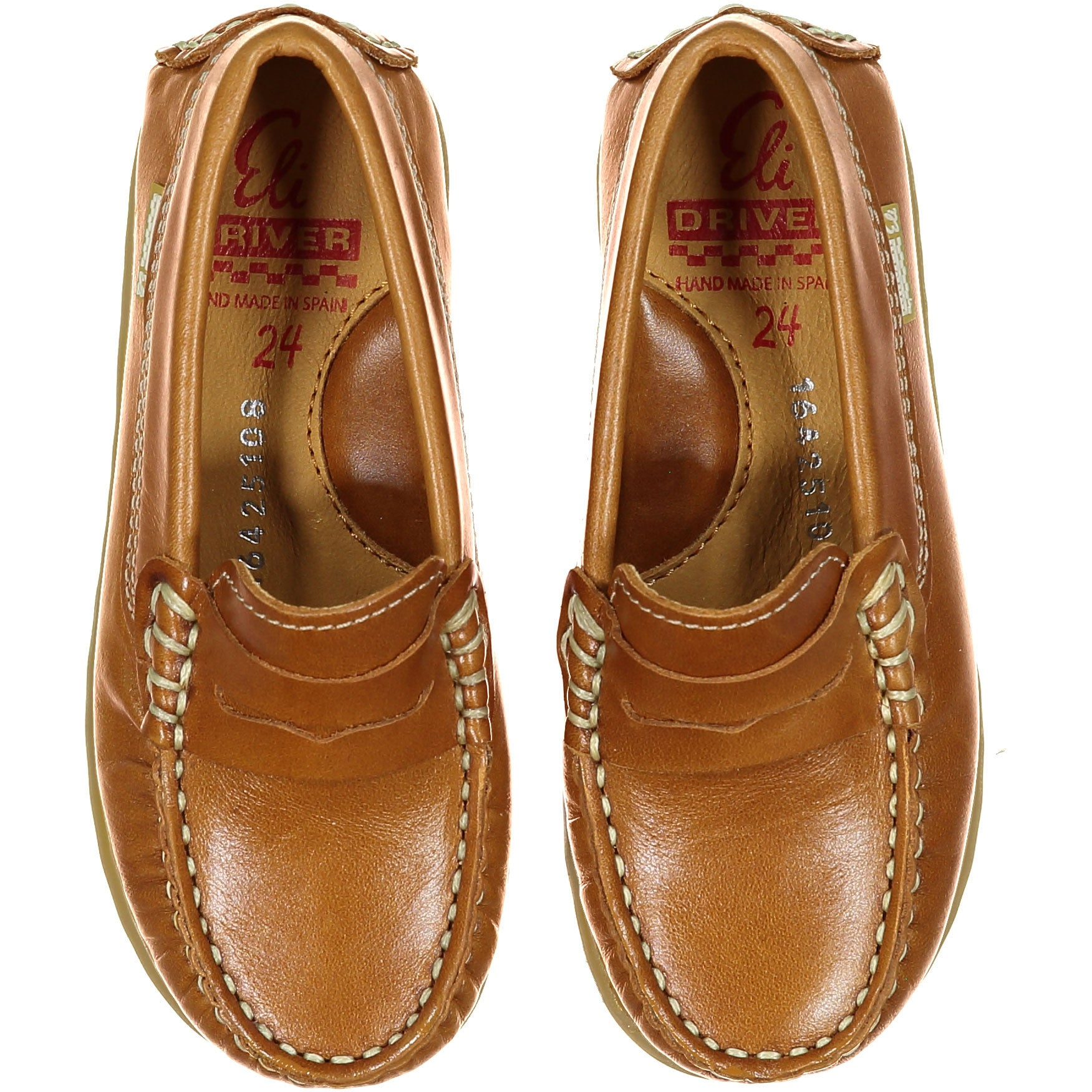 Papanatas Cognac Penny Loafer - Ladida
