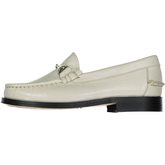 Papanatas Beige Leather Loafer