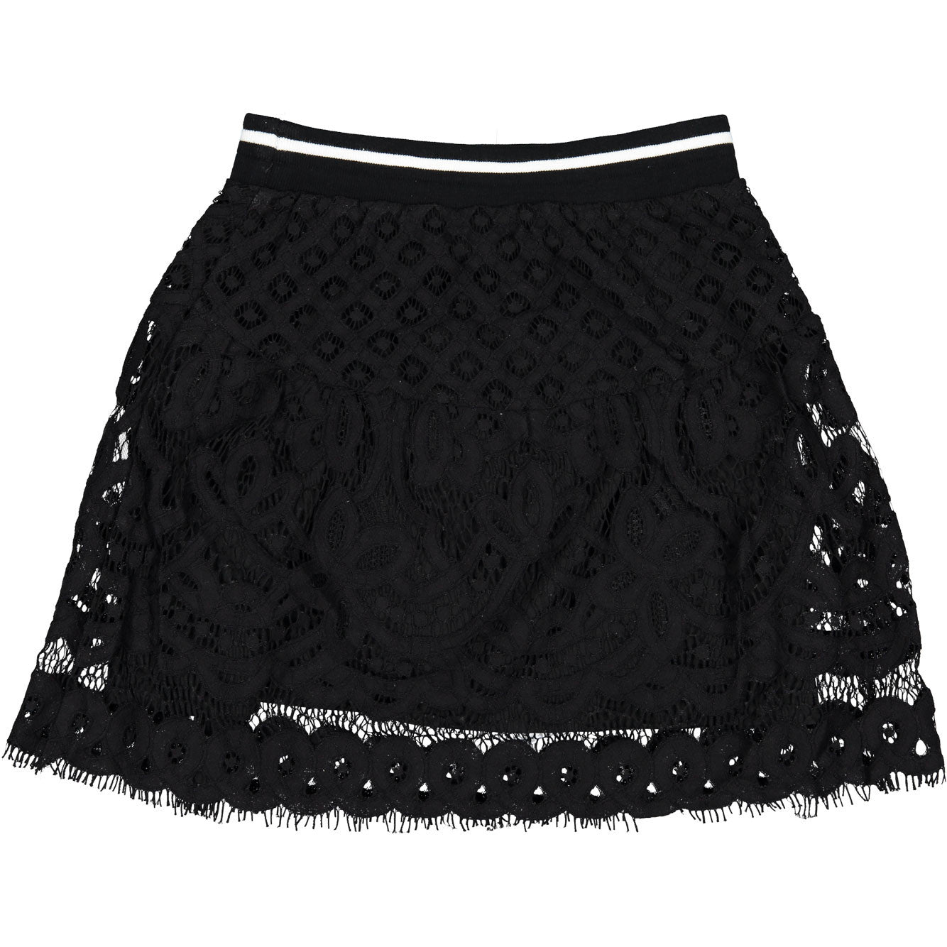 Remix Black Audrey Ruffle Skirt - Ladida