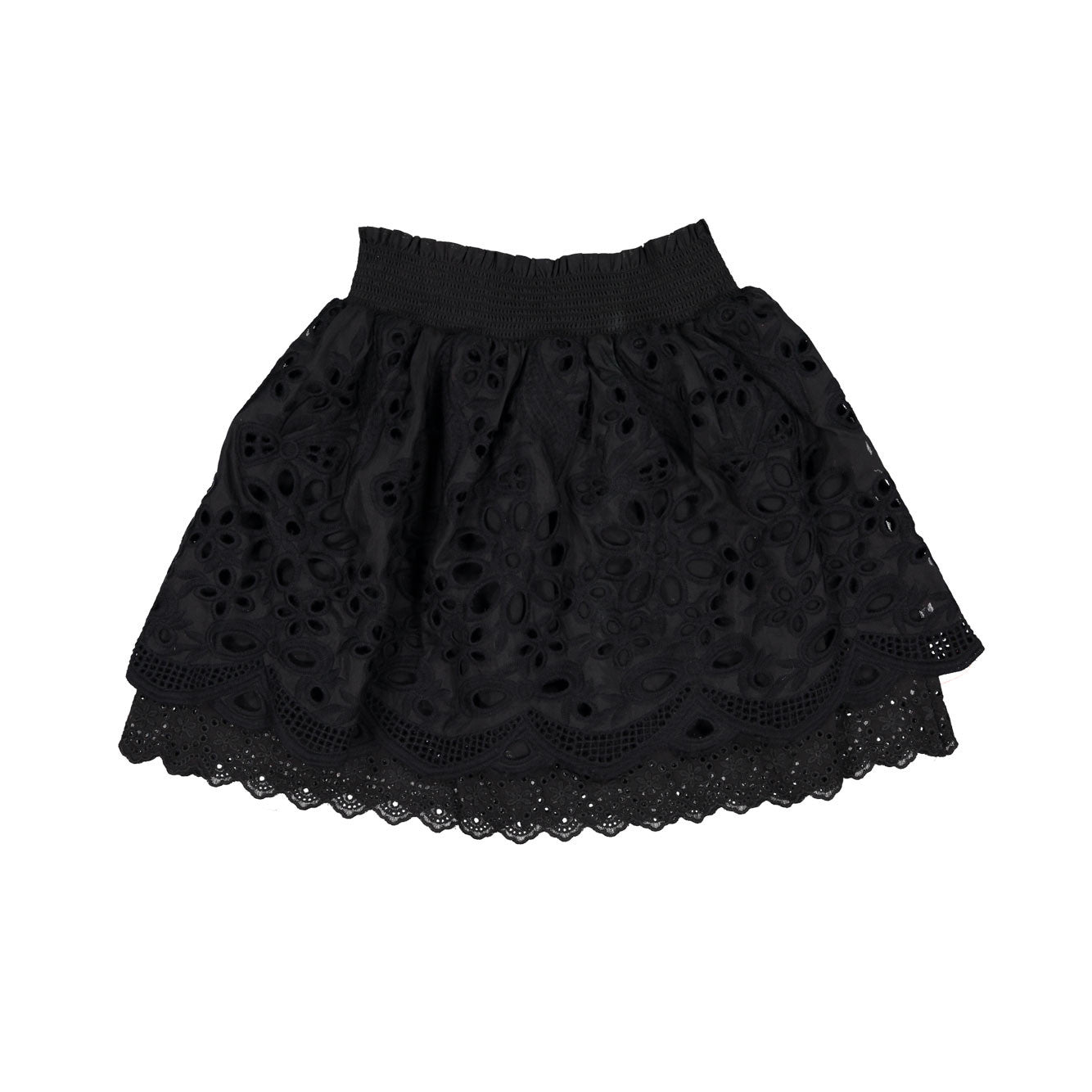 Remix Black Greta Skirt