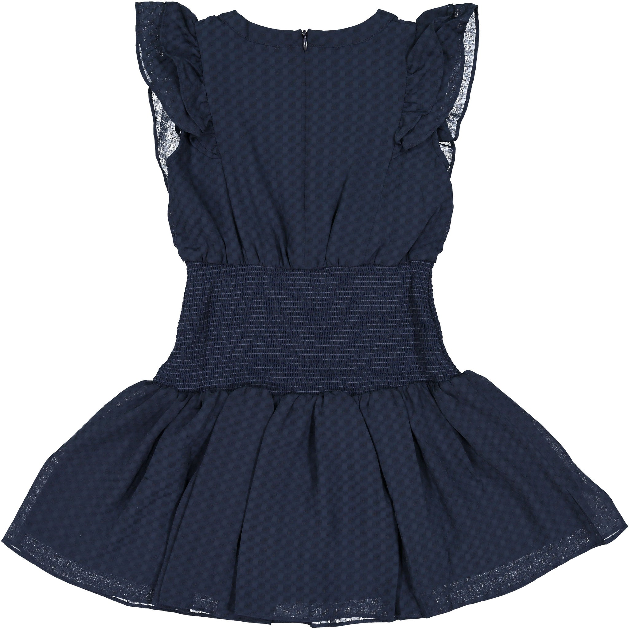 Remix Navy Enigma Dress - Ladida