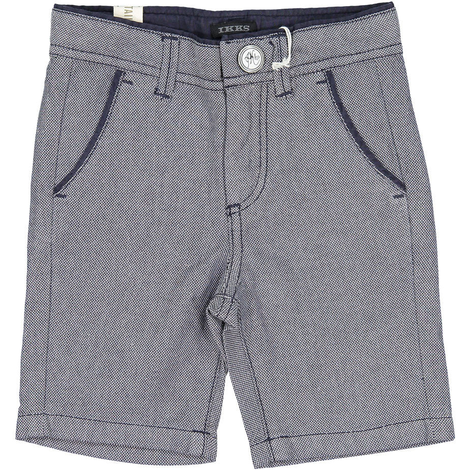 IKKS Heather Navy Shorts