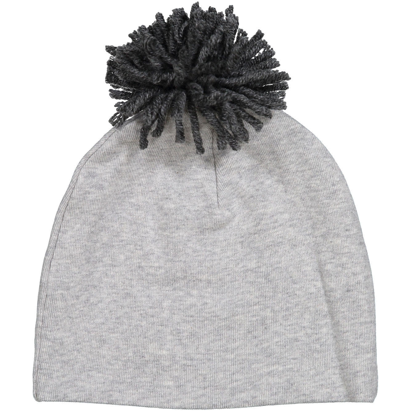 Oh Baby Heather Grey Yarn Pom Hat - Ladida