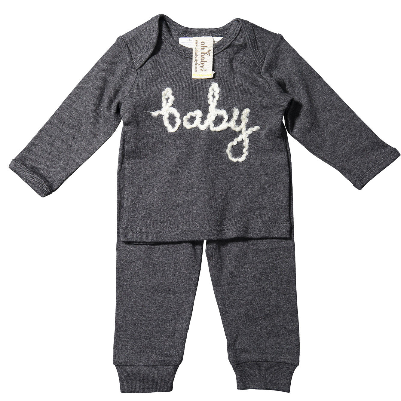 Oh Baby Charcoal Yarn Baby S - Ladida