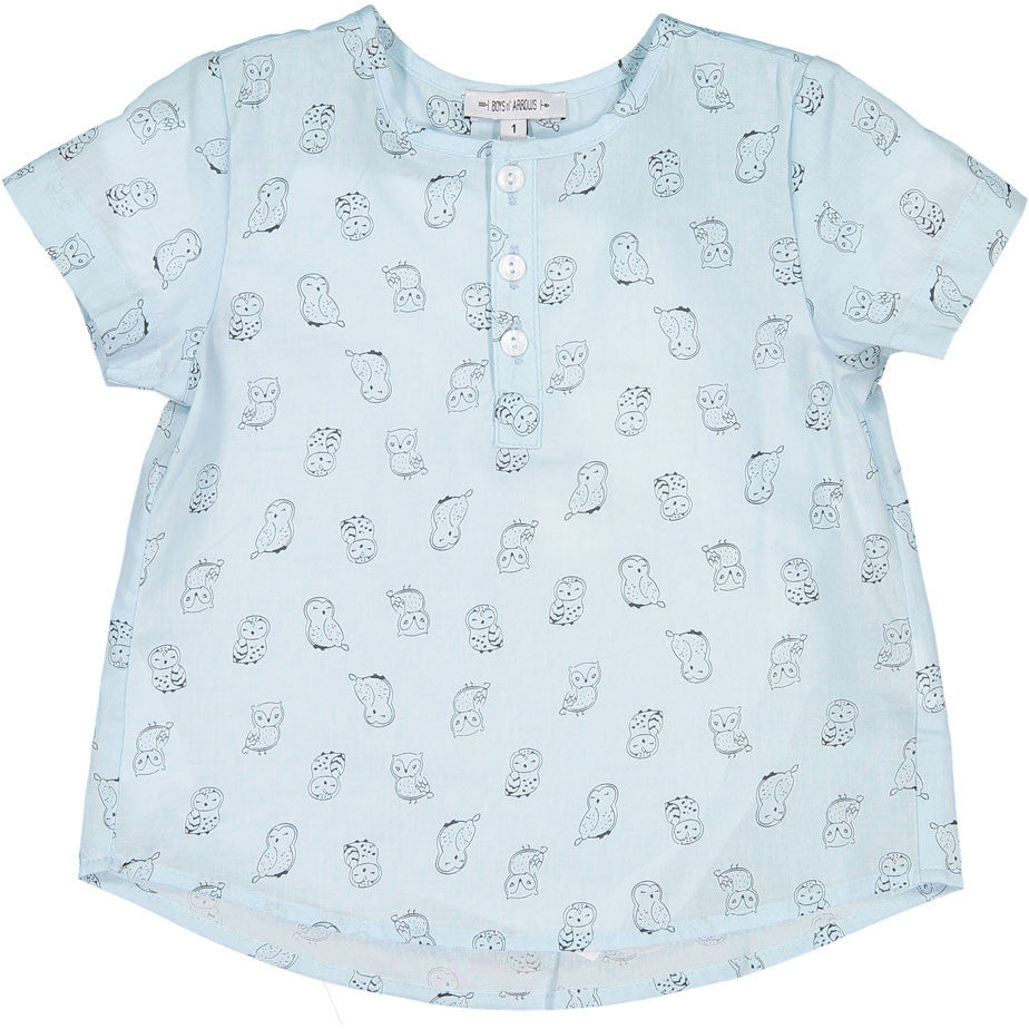 Boys & Arrows Mint Owl Print Tunic - Ladida