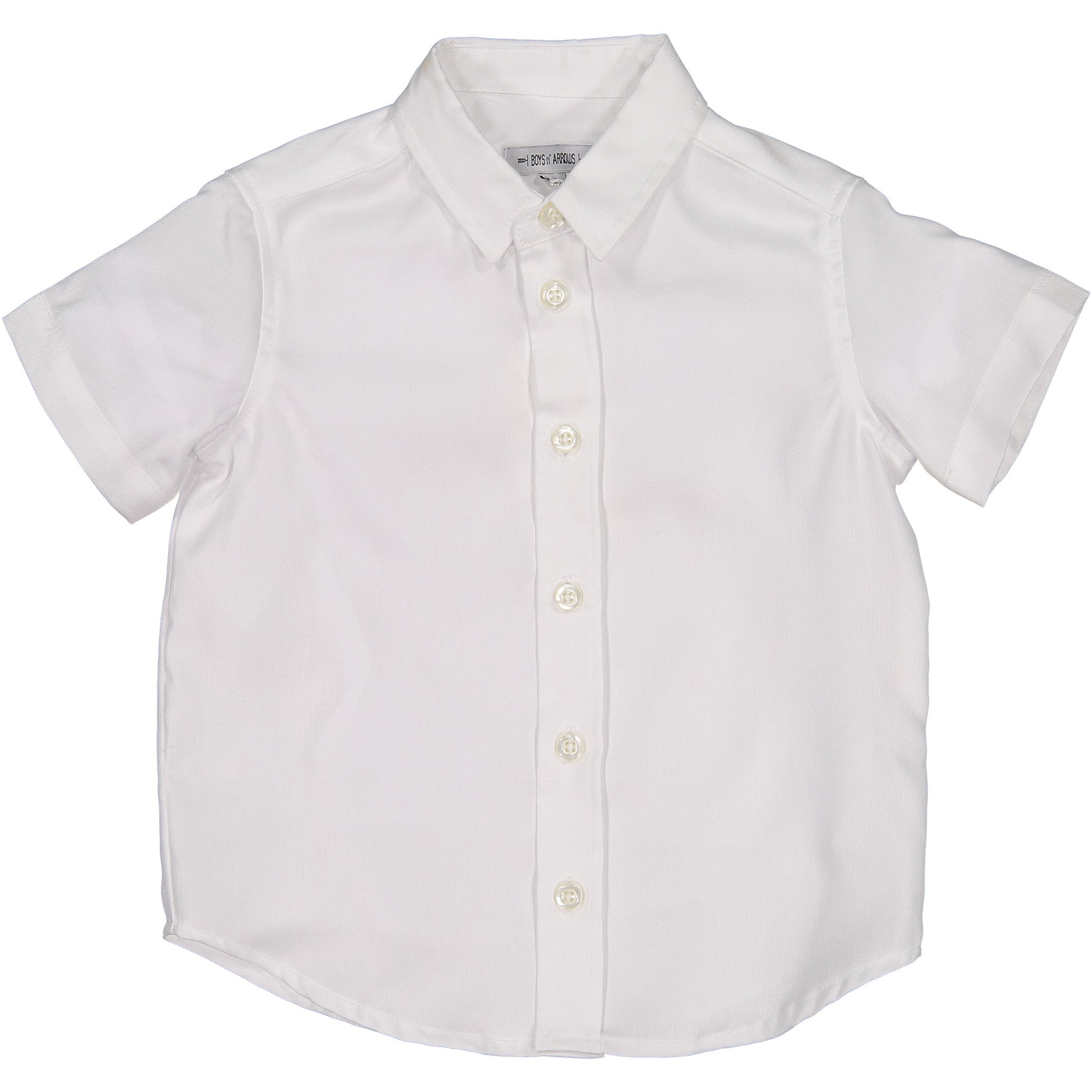 Boys & Arrows White Classic SS Shirt - Ladida