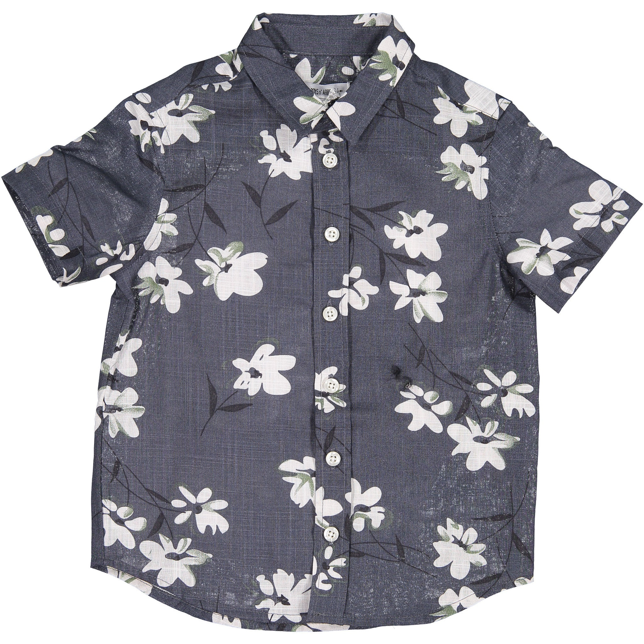 Boys & Arrows Chambray Floral Shirt