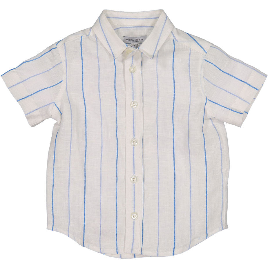 Boys & Arrows Blue Striped Shirt