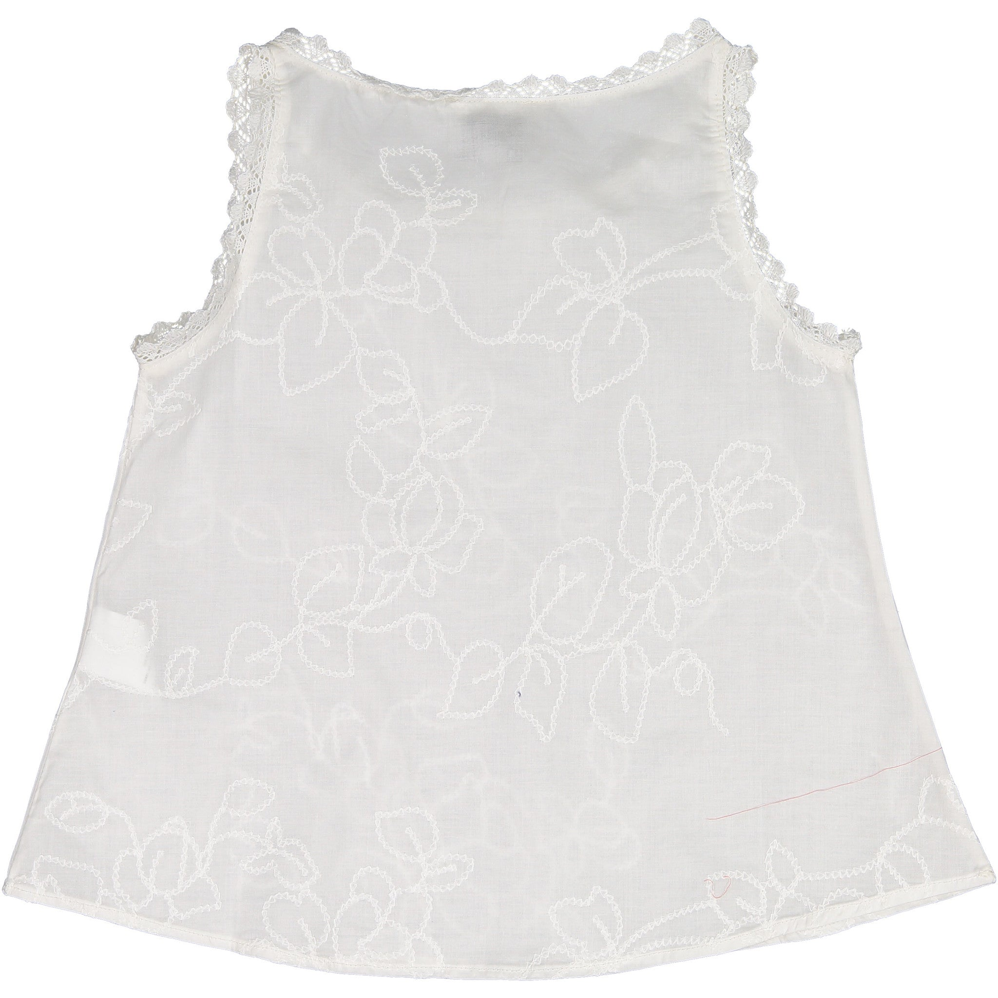 Atelier Barn White Embroidered Top