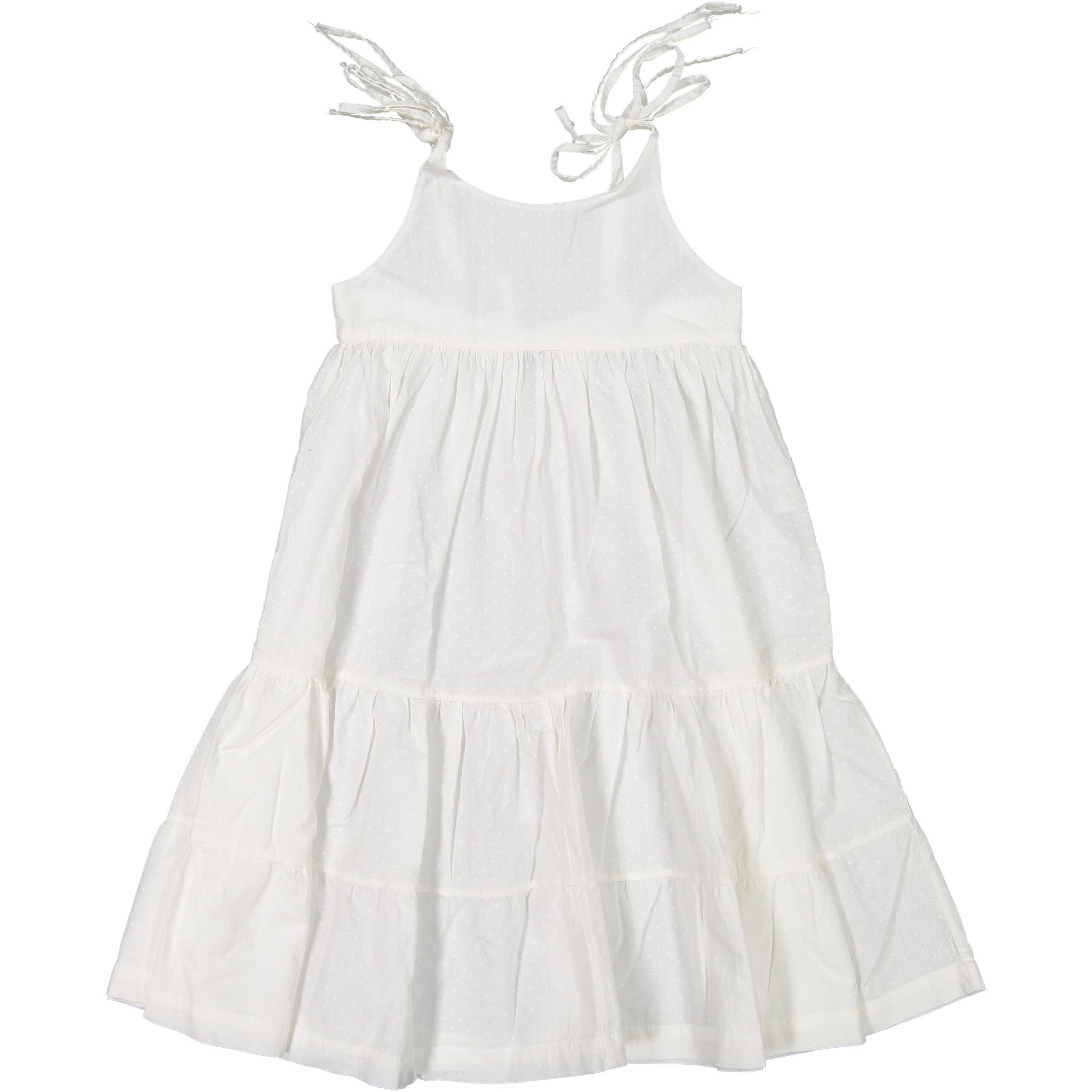Atelier Barn White Dot Sundress - Ladida